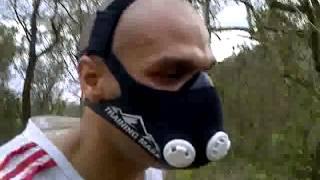 Entrenando en el Avila con la Training Mask