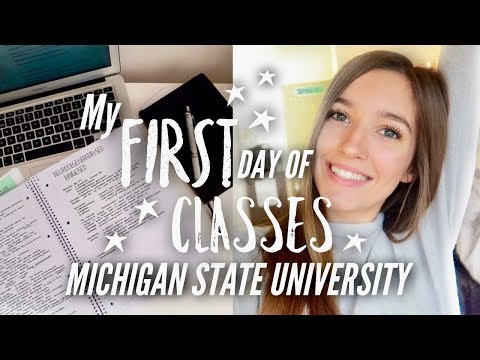 College Day In My Life: First Day of Class, Being Productive, Gym