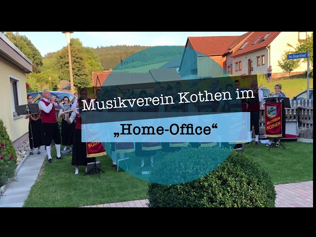 "Musikverein Kothen im ""Home-Office"""