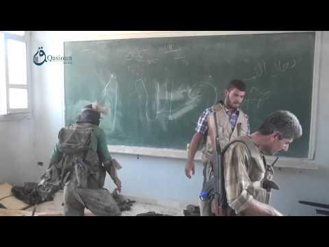 Q. News: Idlib: Regime forces operations room in Salet Zohor village  29-7-2015