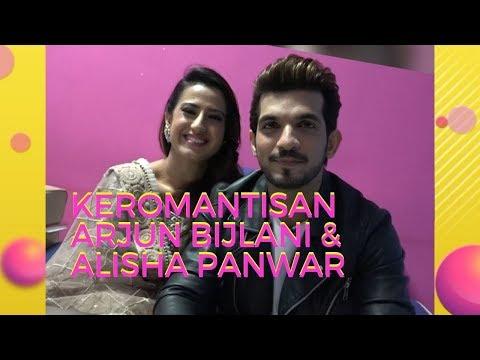 Keromantisan Arjun Bijlani & Alisha Panwar! | BTS Pesbukers