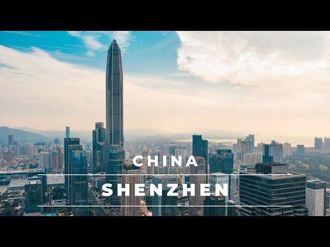 Shenzhen China: City Of The Future In 4k | Aerial Views Of Shenzhen Skyline Day/night – Travel China