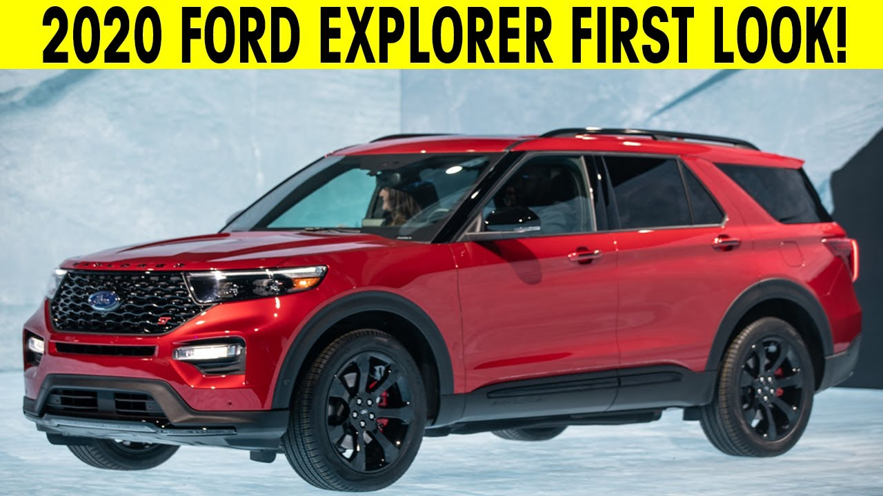 2020 Ford Explorer First Look Exterior Interior Video Information