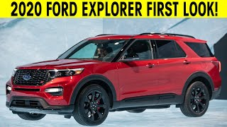 2020 Ford Explorer - FIRST LOOK - Exterior & Interior Video & Information