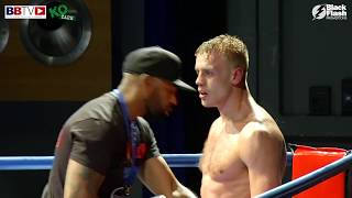 JOHN TELFORD VS CASEY BLAIR - FULL FIGHT AND INTERVIEWS WITH BOTH BOXERS - BBTV