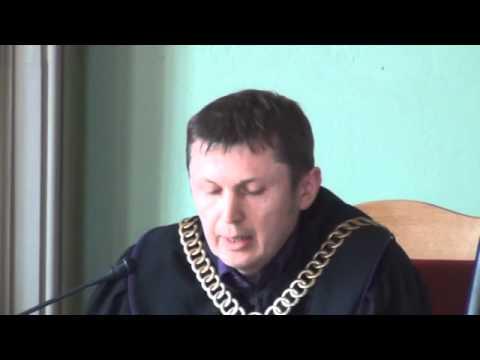 Relacja z ogłoszenia wyroku za grożenie Burmistrzowi Malborka