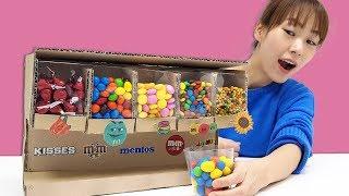 내 맘대로 골라 먹는 달콤한 초콜릿 자판기!! 서은이엄마의 초콜릿 자판기 만들기 M&M