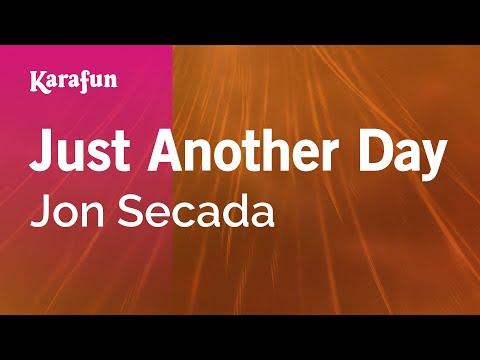 Karaoke Just Another Day - Jon Secada *
