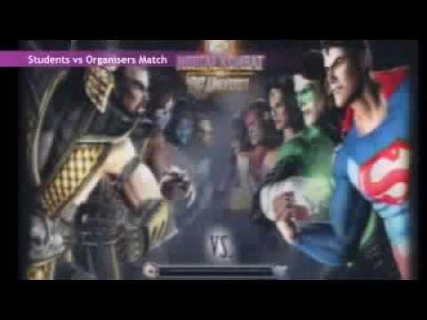 Mortal Kombat vs DC Universe - Students vs Volunteers - Tournament - CGBC 2010