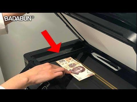 Mira por qué es imposible fotocopiar dinero