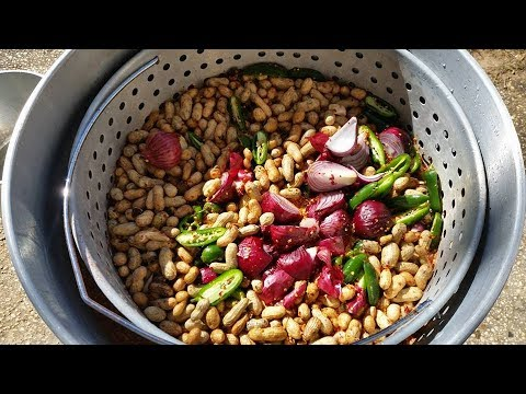 Cajun Boiled Peanuts Southern Style