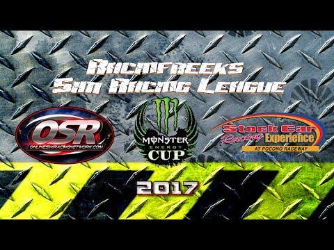 RacinFreeks Sim Racing league New Hampshire live iracing broadcast
