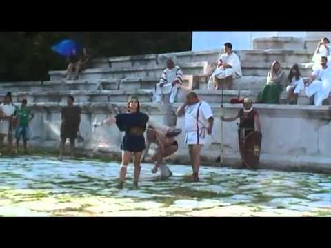 Meeting the Emperor Septimius Severus in Augusta Traiana