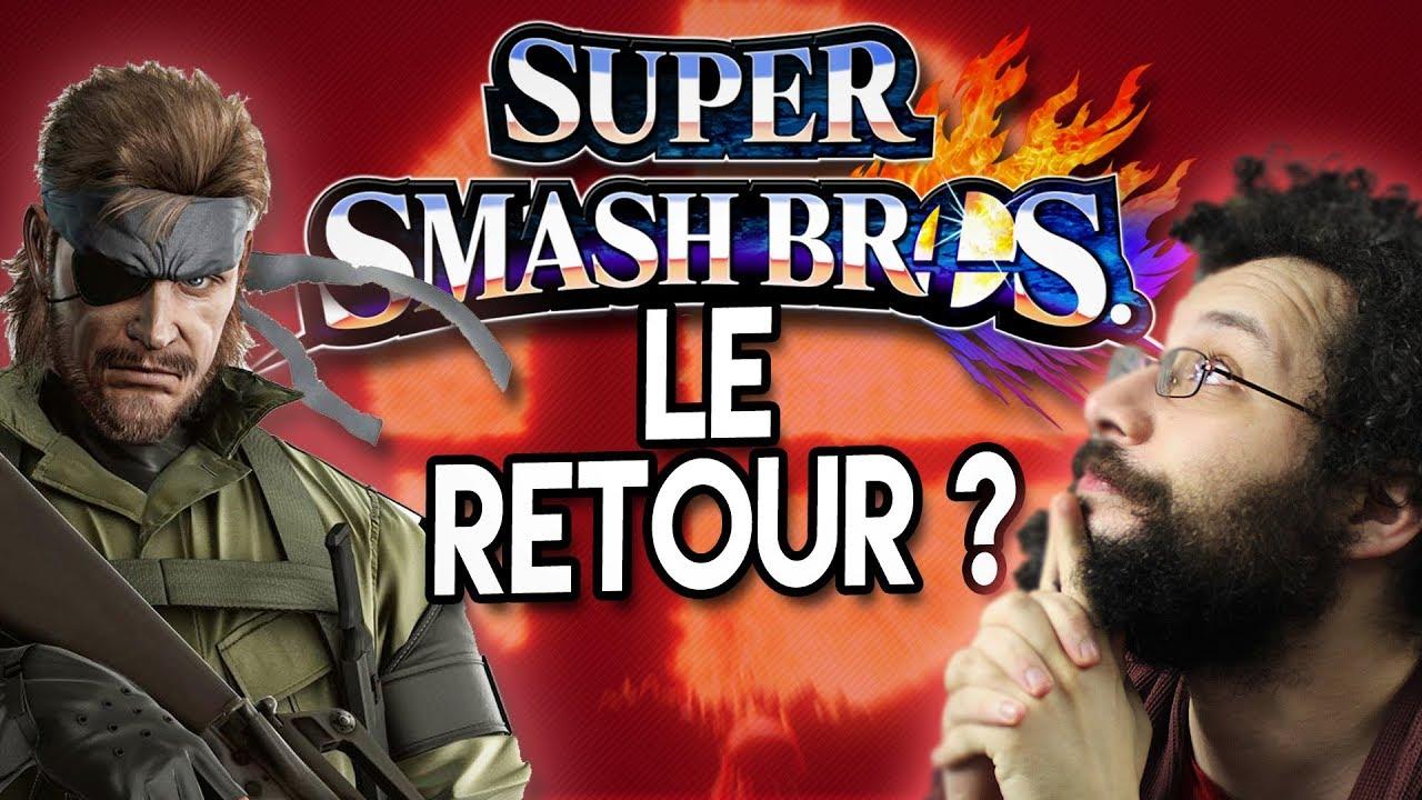 6 persos que JE VEUX dans Smash Bros. Switch - Ermite VLOG