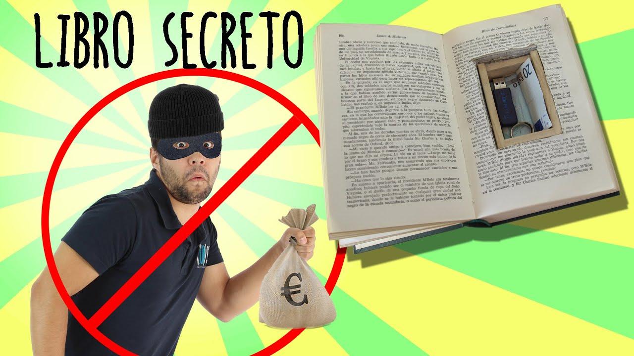 C mo hacer un escondite secreto con un libro youtube - Como hacer un libro hueco ...