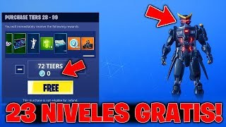 How to GET 23 Battle Pass 9 Levels in Fortnite! TIP LEVEL 100 WORKING Season 9