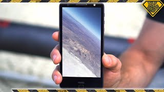 Raw Footage Full Phone Flight To 16 800Ft