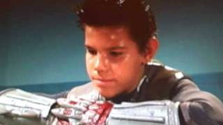 Sharkboy [Taylor Lautner] in the beginning of