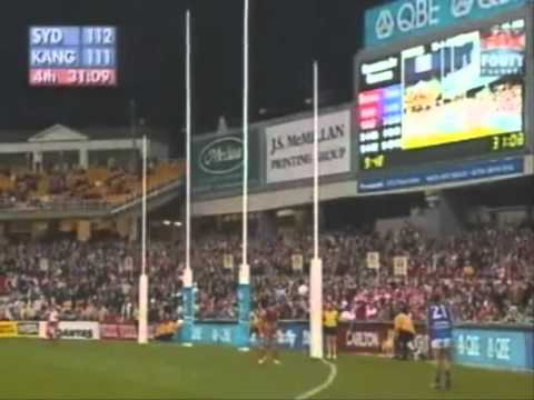 AFL Greatest Moments-Corey Jones' sidwinder completes it, 2004