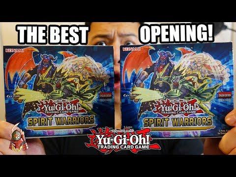 Yu-Gi-Oh! SPIRIT WARRIORS DOUBLE 2X BOX OPENING! TCG 2017