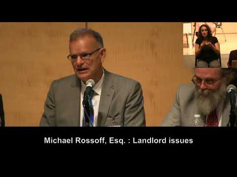 PWDF Seminar: Reasonable Accommodations in Housing - Segment 3 of 3 - Landlord Tenant Issues