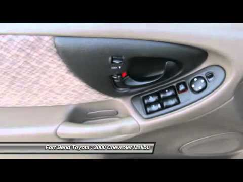 2000 chevrolet malibu at fort bend toyota in richmond y6269092 youtube. Black Bedroom Furniture Sets. Home Design Ideas