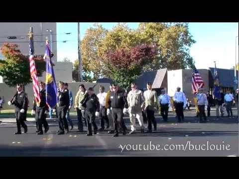 Veterans Day Parade 2012 Modesto CA