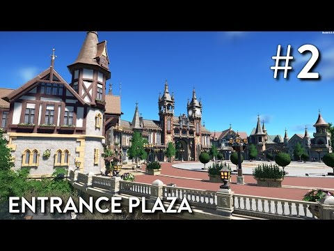 Planet Coaster: Fantasy Valley (Part 2) - Entrance Plaza