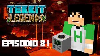 Tekkit Legends | Quarry no Nether! AEHO ! | #8
