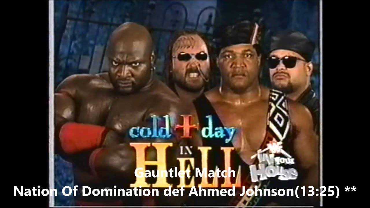 Wwf In Your House 15 Cold Day In Hell Review Youtube