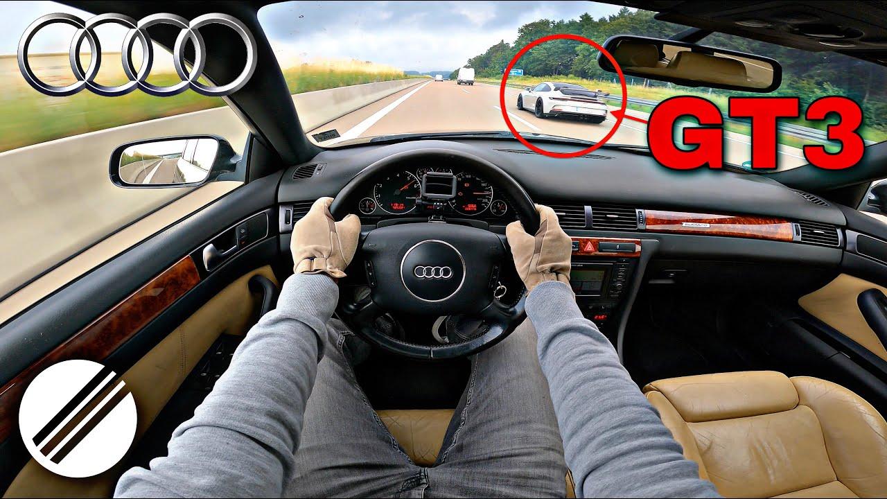 Audi A6 Avant 2.7 T quattro *Broken Engine* Top Speed Drive on German Autobahn🏎