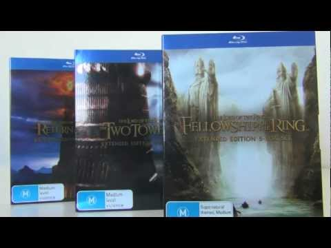 The Lord of the Rings Blu-Ray Trilogy Unboxing