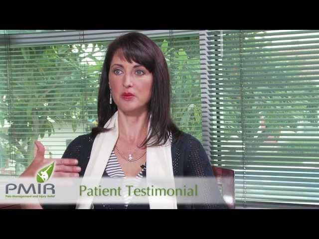 PMIR Patient Testimonial