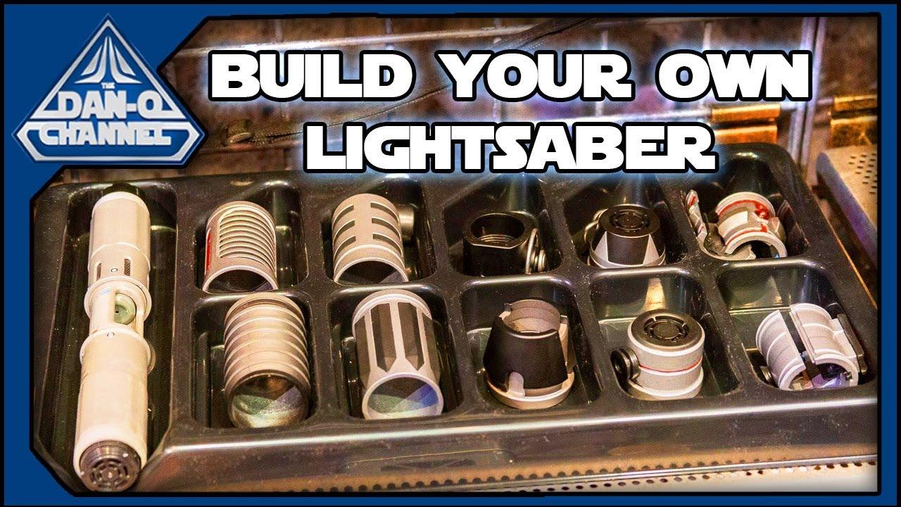 How to Build a Lightsaber at Galaxy's Edge - Savi's Workshop Star Wars  Disney Parks