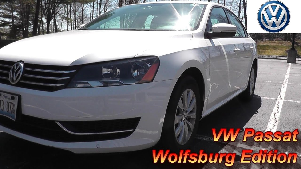 2015 vw passat wolfsburg edition review