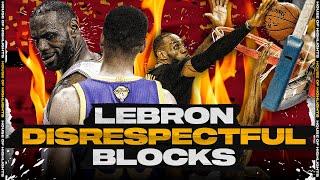 LeBron James MOST Disrespectful Blocks of his Career!