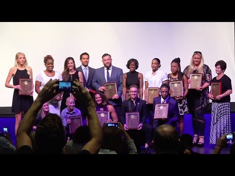 2017 Centennial High School Hall of Fame Induction Night