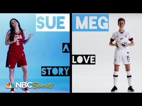 Sue Bird and Megan Rapinoe's Olympic love story | NBC Sports