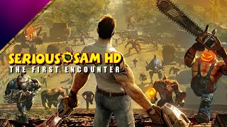 Serious Sam HD: The First encounter  - Gameplay - Part 1  - Iso päitä (PC) (COOP)