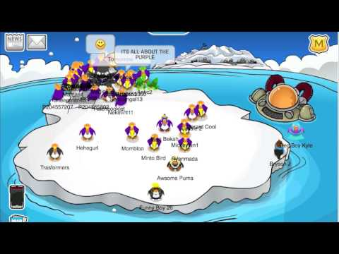 Club Penguin Iceberg Tipping Party