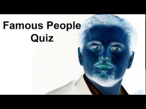 Famous People Quiz