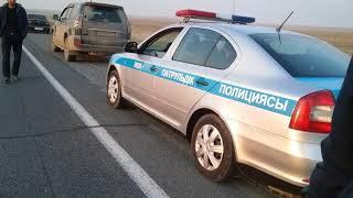 Развод  на превышение скорости трасса Чимкент Самара