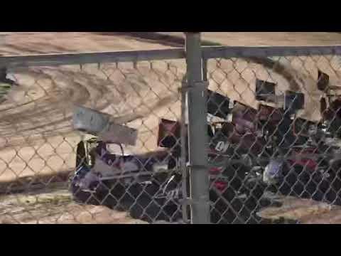 Delta Speedway 8/31/19 Jr Sprint Heat 1A- Ty