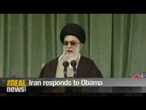 Iran responds to Obama