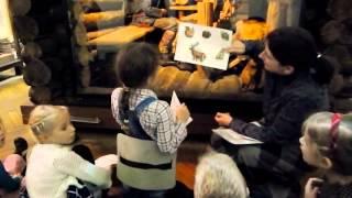 видео Детский квест в музее Дарвина