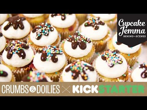 Get Crumbs & Doilies Kickstarter Video | Cupcake Jemma Images