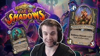 (Hearthstone) Rise of Shadows Thief Rogue!