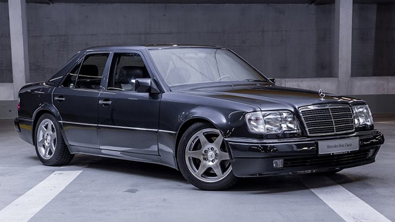 Mercedes W124 E60 Amg Limited Youtube