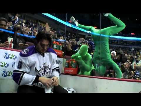 Doughty hangs with Green Men in penalty box 3/31/11
