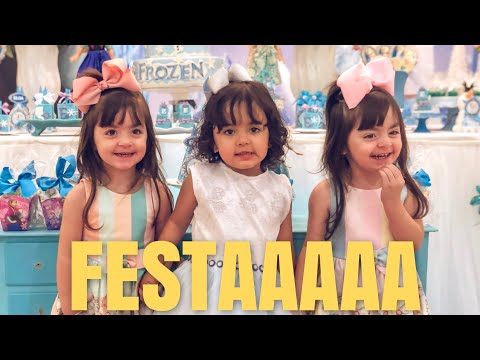 Muita Festa Pra Um Dia SÓ Evento Disney | Jéssica E As Gêmeas